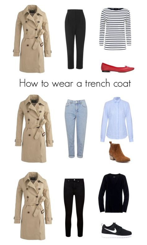 When it is not cold enough to wear thick trench coat outfit