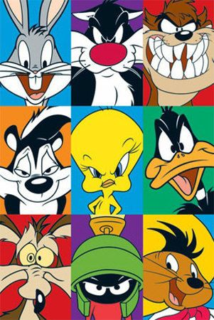 WB Loony Toons Bugs bunny Tasmanian Devil Pepe Le Pew Pie Daffy Duck Wile E. Coyote Marvin the Martian Speedy Gonzales WB Loony Toons Bugs bunny Tasmanian Devil Pepe Le Pew Pie Daffy Duck Wile E. Coyote Marvin the Martian Speedy Gonzales Looney Tunes Characters, Looney Tunes Cartoons, 90s Cartoons, Cartoon Characters 90s, Cartoons To Draw, Looney Tunes Funny, Comedy Cartoon, Watch Cartoons, Cartoon Memes
