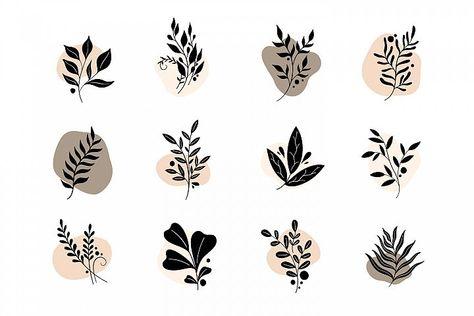 Icon set nature (453691) | Illustrations | Design Bundles