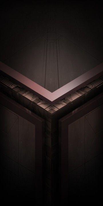 Asus Rog Default Desain Wallpaper Ponsel Seni