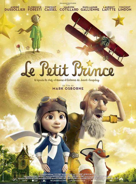Le Petit Prince film d'animation de Mark Osborne d'après le chef d'œuvre d'Antoine de Saint-Exupéry. Un site créé spécialement pour les enseignants.