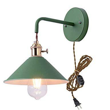 Wall Light fixtures Nordic Wall Sconce Lamps Macaron Edison Copper lamp Holder Aisle Lights Corridor Lamp Bedside Reading Light E27 Color : Black