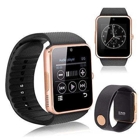YEMON Smart Watches Bluetooth with Camera Compatible with