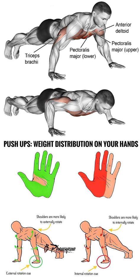pushups pierdere în greutate