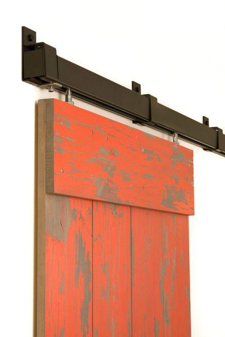 Box Rail In Galvanized Steel Side Mount Box Rail Sliding Hardware Box Rail Track Sliding Door Hard Barn Door Barn Door Hardware Sliding Barn Door Hardware