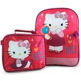 Hello Kitty Backpack and Lunch Bag Set - Kids Bags