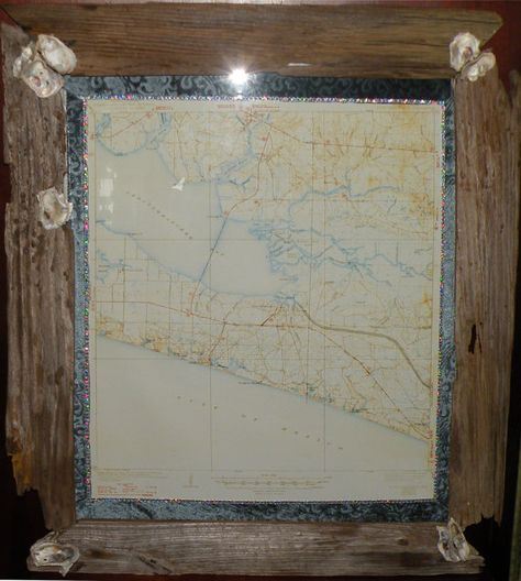 1939 Edition Map Of Pt Washington Fl Reprinted In 1947 16 X 24