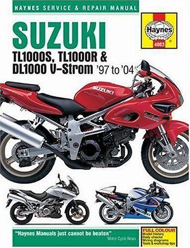 Read Suzuki Tl1000s Tl1000r Dl1000 V Strom 1997 2004 Haynes Service Repair Manuals Free Trying To Find Suzuki Tl1 In 2020 Repair Manuals Transmission Repair Suzuki