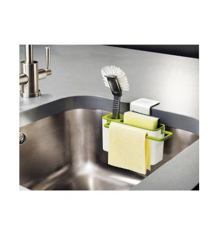 sink aid self draining sink tidy white x2f green david jones gootsteen wastafel interieurtips pinterest