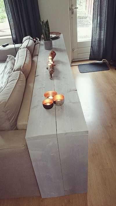 Table D Appoint Pour Derriere Le Canape Table D Appoint Couch Hinter Beeisti En 2020 Detras De Sofa Decoraciones De Casa Hogar