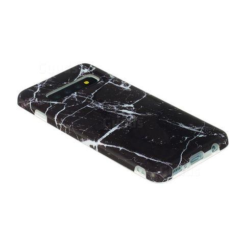 Black Stone 2 Samsung S10 Case