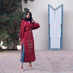 حبي الابدي للكيمونو Hijabista Fashion Hijab Fashion Fashion