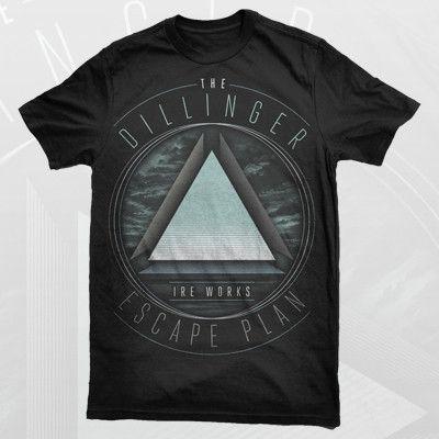 Dillinger Escape Plan Ire Works Shirt Escape Plan How To Plan Shirts