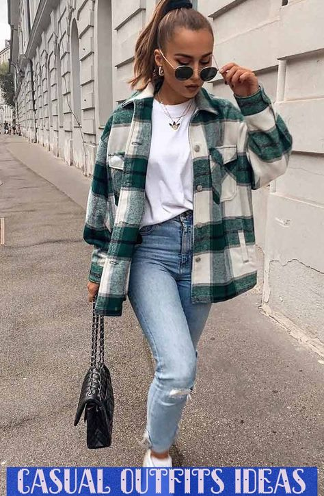 Comfy Fall Look With Flannel Shirt Flannelshirt Jeans When The #flannelshirt #jeans #casual #casualoutfits #comfy #fall #flannel #flannelshirt #jeans #knocks #outfits #shirt * bequemer herbst-look mit flanellhemd flanellhemd jeans wenn die * look d'automne confortable avec une chemise en flanelle
