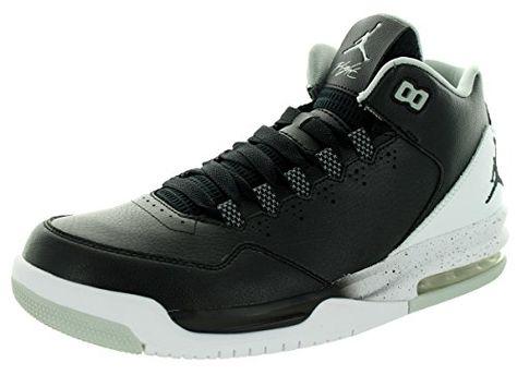 dad524bf595 Nike Jordan Men s Jordan Flight Origin 2 Black Black White Grey Mist Basketball  Shoe 10 Men US USD 115.00