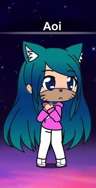 Wolfie Lost Cute Anime Chibi Anime Chibi Anime Wolf Girl