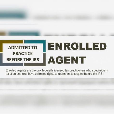 what does an enrolled agent do