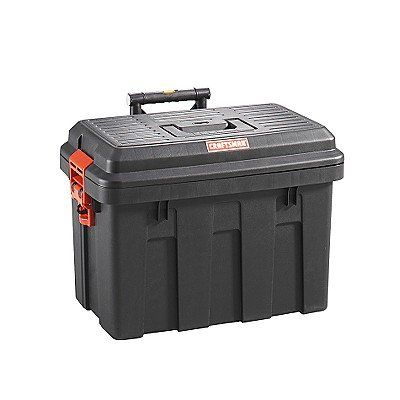 Craftsman Sit Stand Tote Rolling Tool Box Model Sst2 Camper Awnings Camping Tools Portable Tool Box
