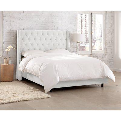 Kelly Clarkson Home Improv Upholstered Standard Bed Upholstered Panel Bed Upholstered Beds Furniture
