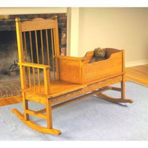 Rocking Chair With Craddle : ) Now Thatu0027s A Great Idea!!!!!! | Off My Rocker!  | Pinterest | Rocking Chairs, Babies And Future