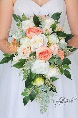 Vintage Theme Wedding Flower Brides Bouquet Silk Flower Wedding