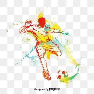 Football Player Silhouette Football Clipart Football Physical Elements Png Transparent Clipart Image And Psd File For Free Download Graphic Design Background Templates Football Logo Design Football Players