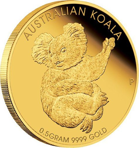 Mini Koala 2015 0.5g Gold Coin