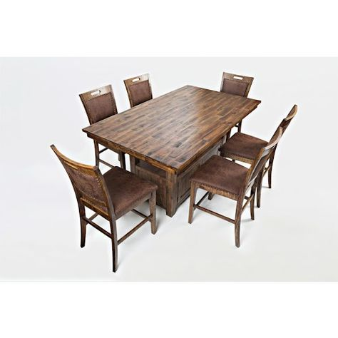 Jofran Cannon Valley High Low Table And Chair Set Table And