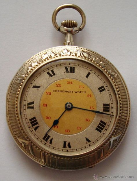 9f8c65e2b43 Reloj de bolsillo Corgémont Watch en plata de Perón