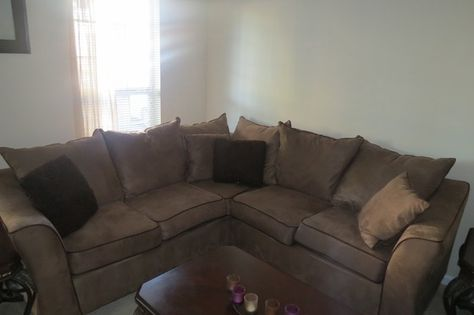 brown sectional couch ga residents only 700 00 home brown rh pinterest com au