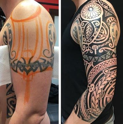 Pin By Marvin Saywack On Tattoo Cover Up Tattoos Maori Tattoo Tribal Band Tattoo