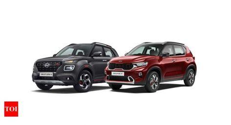 Kia Sonet Kia Sonet Vs Hyundai Venue Key Differences In 2020 Hyundai Kia Small Suv
