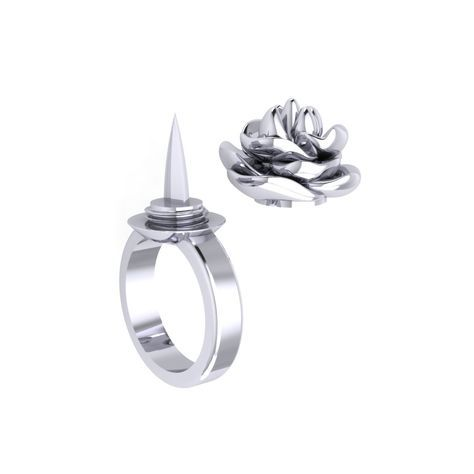 The Defender Ring™ is a modern self-defense weapon for women developed as a ring with a concealed blade.
