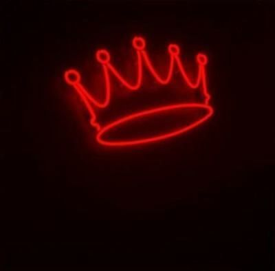New Red Crown Neon Sign 14 X10 Glass Bar Wall Decor Artwork Light Lamp Display Red Aesthetic Red Aesthetic Grunge Dark Red Wallpaper