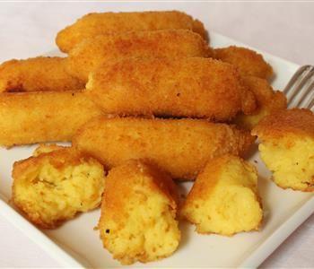 طريقة عمل بطاطس بانيه بسهولة Potato Croquette Recipe Croquettes Recipe Food