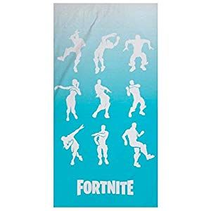 Epic Games Toalla Fortnite Dancing Bailes Microfibra