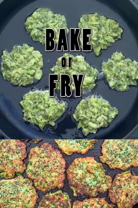 These Basic Broccoli Fritters are one of my favorite ways to enjoy broccoli. Tasty, tender, and healthy, they pair perfectly with a cool dollop of sour cream or yogurt to make a filling vegetarian meal. FOLLOW Cooktoria for more deliciousness! #broccoli #lunch #sidedish #easyrecipe #vegetarian #brunch #yummy #cooktoria