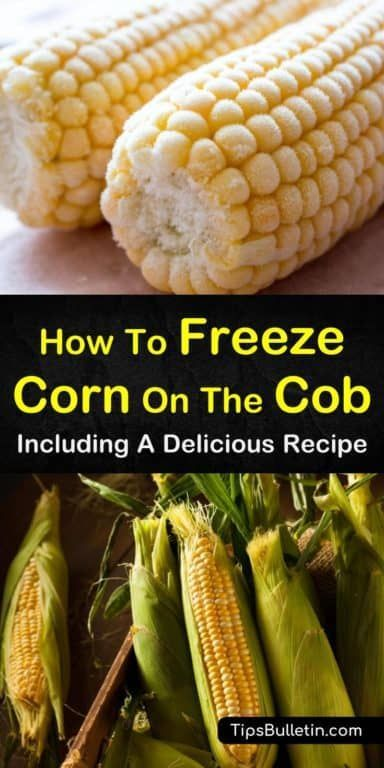 3 Simple Ways To Freeze Corn On The Cob Frozen Corn Freezing Fresh Corn Blanching Corn