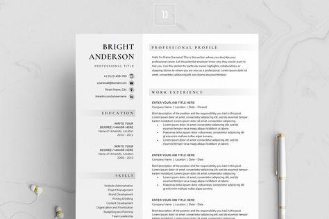 Resume/CV - BRIGHT