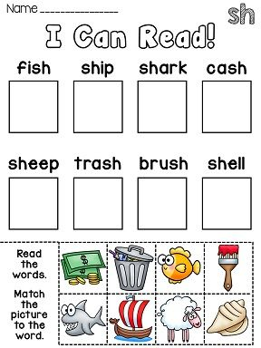 Picture and Word Match Reading Centers for the Year (35 phonics ...