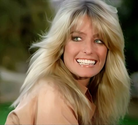 The Prince and the Angel – Charlie's Angels Divas, Farrah Fawcett, Layered Hair, Celebs, Celebrities, Sexy Hot Girls, Beautiful Actresses, Hairdresser, Gorgeous Women