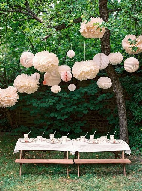 Girl baby shower ideas -These Are the 12 Small Garden Party Ideas You Should Plan to Copy This Summer | Hunker