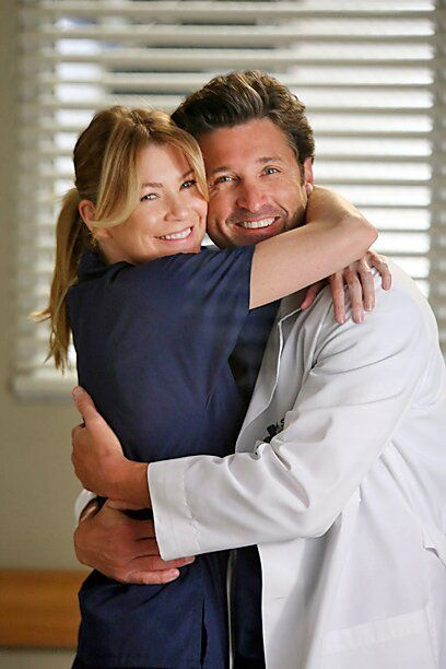 'Grey's Anatomy': The Evolution of Meredith Grey - Netflix about you searching for. Greys Anatomy Derek, Greys Anatomy Funny, Greys Anatomy Cast, Grey Anatomy Quotes, Greys Anatomy Season 3, Derek Shepherd, Derek And Meredith, Grey's Anatomy Wallpaper Iphone, Jenifer Aniston