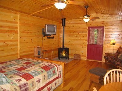 One Room Cabins Custom Image Detail For Is A Romantic One Room Cabin Spacious And . Design Inspiration
