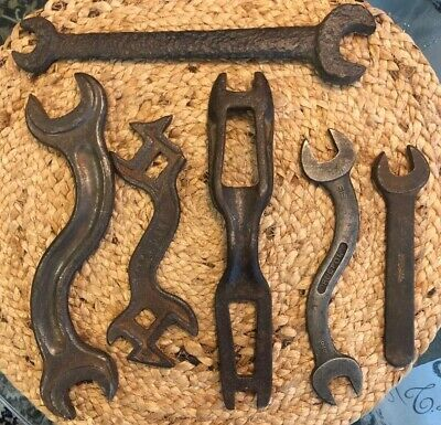 Ebay Ad Url 6 Antique Vintage Wrenches I Harvester He911 Fulton