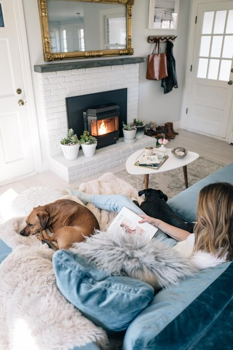 Living Room Reveal Rove Concepts Hugo Sectional Review Jess Ann