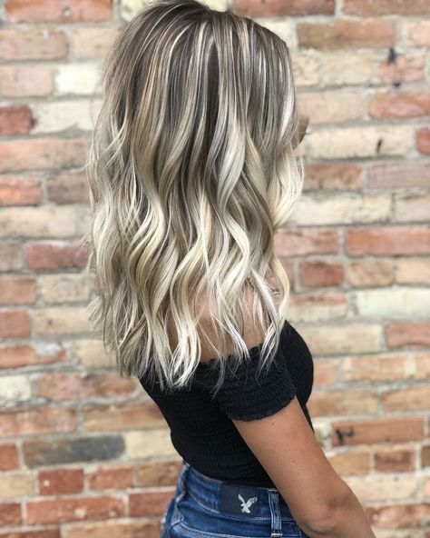 Cool 42 Best Rooty Blonde Balayage To Inspire You