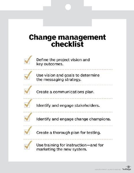 What is change management? - Definition from WhatIs com | Books to