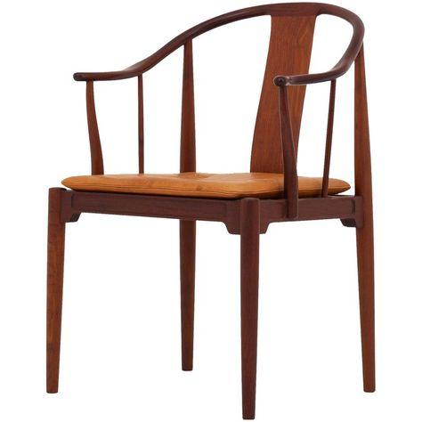China Chair By Hans J Wegner Chair Sleeper Chair Wishbone Chair