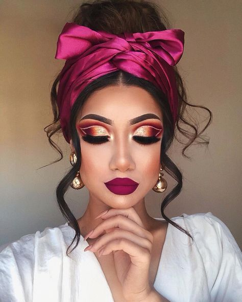 70 Most Gorgeous Makeup Looks To Get You Inspired - My best makeup list Makeup Eye Looks, Glam Makeup Look, Glamorous Makeup, Stunning Makeup, Elegant Makeup, Eyeshadow Makeup, Makeup Art, Hair Makeup, Eyeshadows